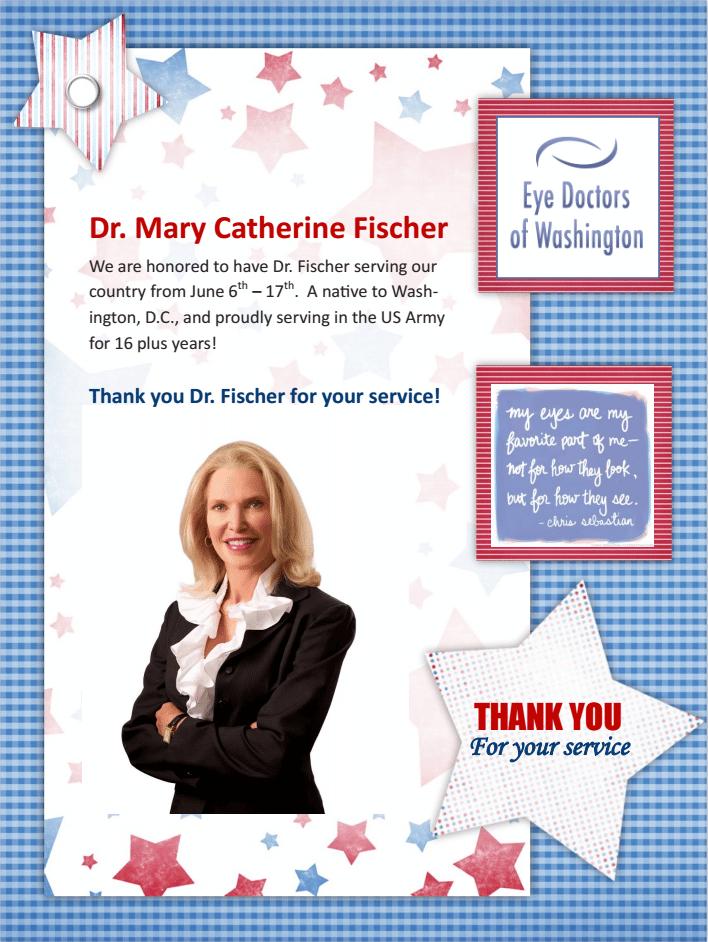 Dr. Fischer Military Flyer