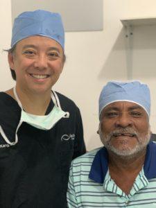 Paul Kang Health in Sight Mission Roatan Honduras